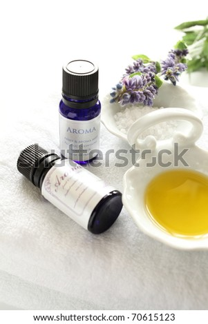 Aroma oil and massage oil