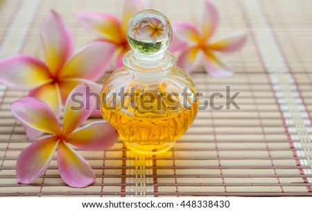 Aroma oil for spa