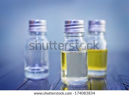 aroma oils - stock photo