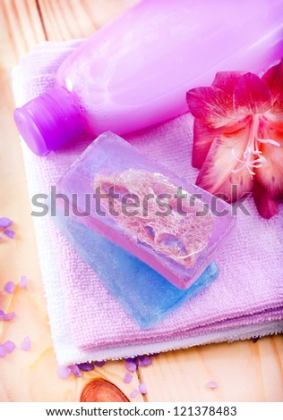 aroma soap for spa