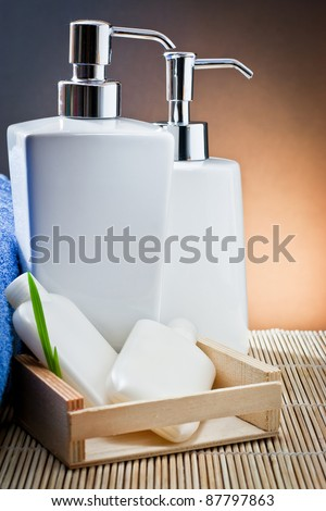 aromatherapy and spa still life