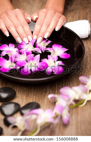 Aromatherapy concept - stock photo