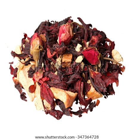 Aromatherapy potpourri mix of dried aromatic flowers.