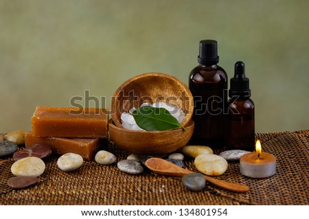 Aromatherapy.Spa - stock photo