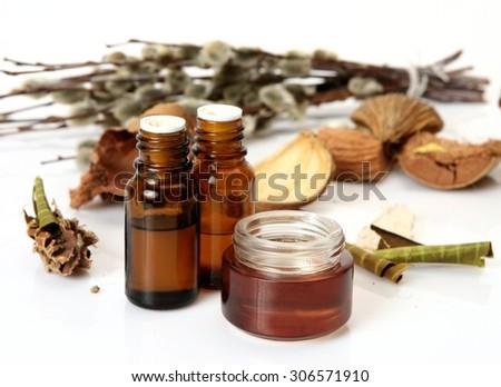 aromatherapy, spa, massage - stock photo