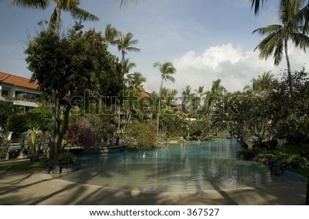 Around Bali Indonesia Series - stock photo