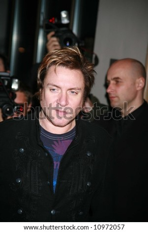 Arrivals at the ING Renault F1 Team Wrap Party, at the Mayfair Hotel on November 28, 2007 in London, England