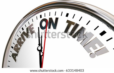 Arrive on time clock punctual schedule stock illustration 633148403 arrive on time clock punctual schedule 3d illustration altavistaventures Images