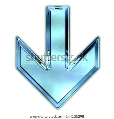 Arrow. - stock photo