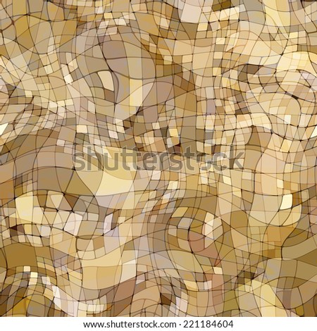 art abstract colorful chaotic waves seamless pattern, transparency background in beige, white, grey and brown colors