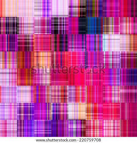 art abstract colorful geometric seamless pattern, bright tiled background in fuchsia, pink, violet, blue, purple, red and white colors - stock photo