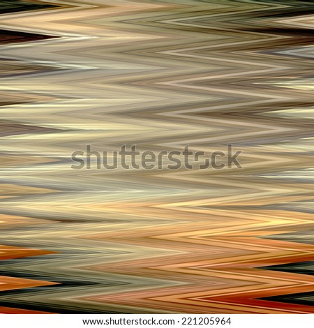art abstract colorful zigzag geometric horizontal seamless pattern background in beige, gold, orange, grey and brown colors - stock photo