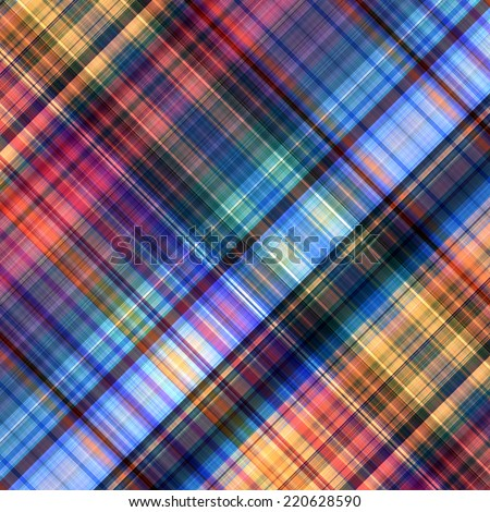 art abstract geometric diagonal pattern rainbow background with blue, cardinal, coral red, orange and violet colors - stock photo