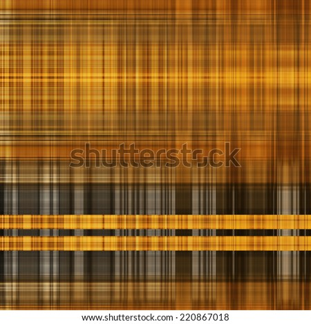 art abstract geometric pattern blurred background in gold, brown, orange, grey and black colors - stock photo