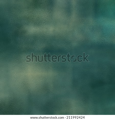 art abstract glass textured background in blue, green and gold colors