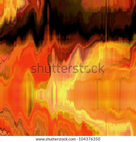 art abstract golden bright pattern background