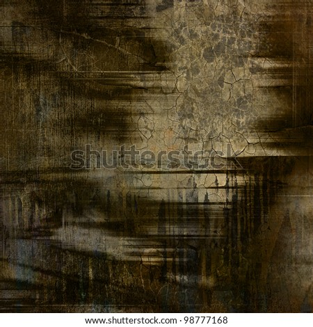 art abstract grunge paper background - stock photo