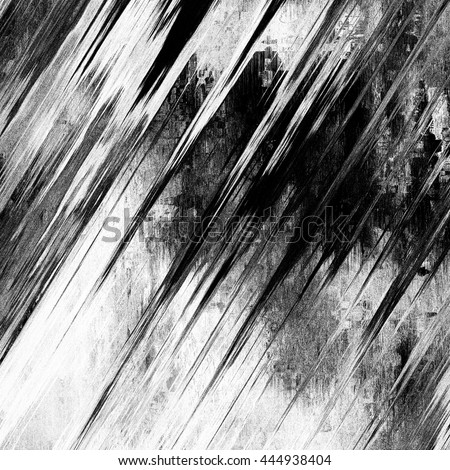 art abstract monochrome grunge diagonal graphic blurred black and white background  - stock photo