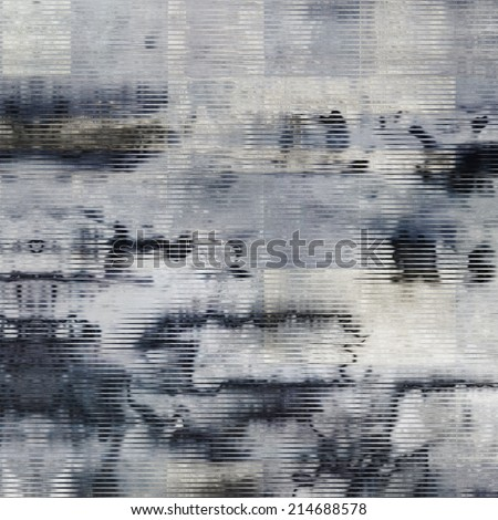 art abstract monochrome watercolor background in grey, white and black colors - stock photo