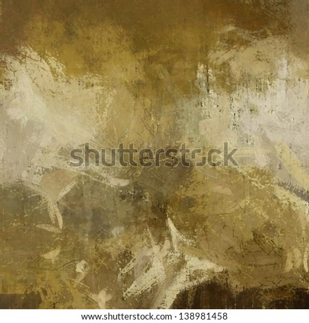art abstract painted beige background - stock photo