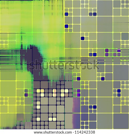 art abstract rainbow pattern background - stock photo