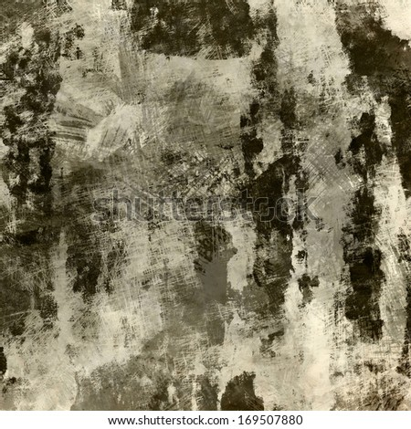 art abstract watercolor background in beige and black colors - stock photo