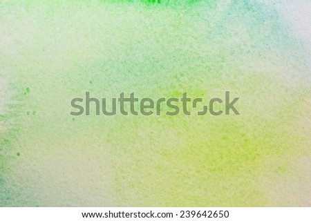 Art abstract watercolor background on paper texture - stock photo