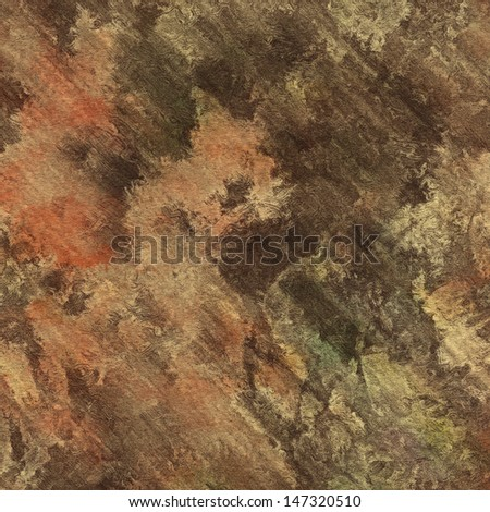 art abstract watercolor background on paper texture in brown, red and beige colors - stock photo