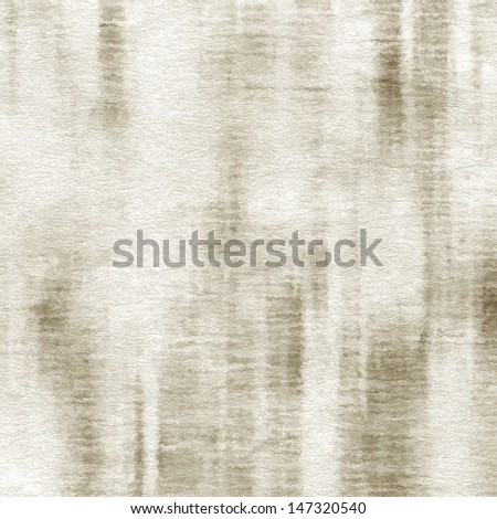 art abstract watercolor background on paper texture in white and transparency beige colors - stock photo