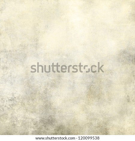 art abstract white grunge dust textured monochrome background with light grey and beige blots - stock photo