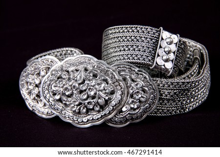 Art and craft about silver work in up-north Thailand, Sukhothai province.