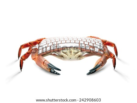 art crab keyboard