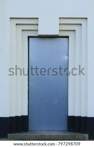 Art deco door frame. An art deco door frame from an English public house. & Art Deco Door Frame Art Deco Stock Photo (100% Legal Protection ...
