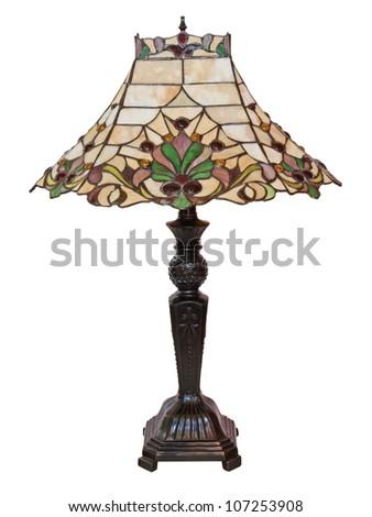 art deco lamp - stock photo