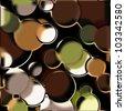 art glass geometric colorful background - stock photo