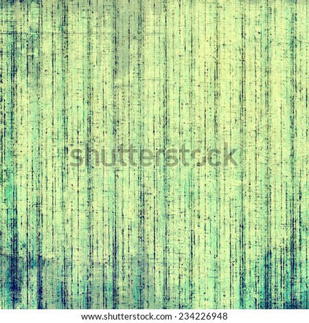 Art grunge vintage textured background. With different color patterns: blue; green; yellow