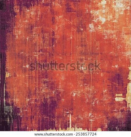 Art grunge vintage textured background. With different color patterns: brown; red (orange); purple (violet); pink - stock photo