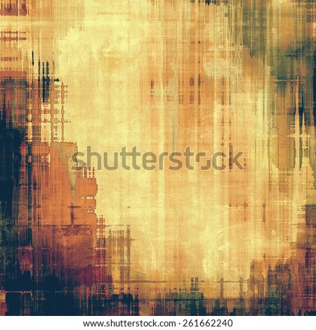 Art grunge vintage textured background. With different color patterns: yellow (beige); brown; purple (violet); black - stock photo