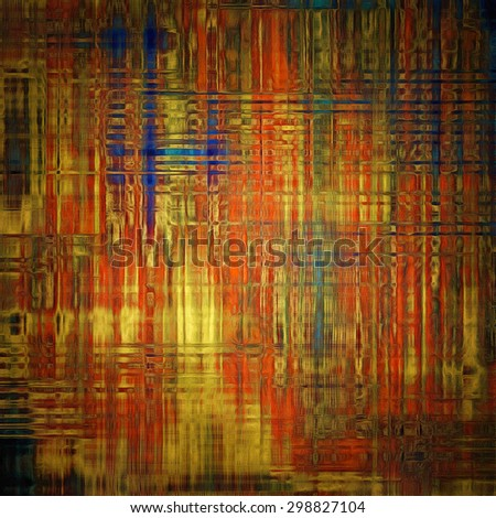 Art grunge vintage textured background. With different color patterns: yellow (beige); brown; blue; red (orange) - stock photo