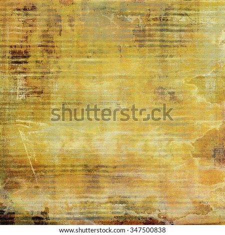 Art grunge vintage textured background. With different color patterns: yellow (beige); brown; gray; white - stock photo