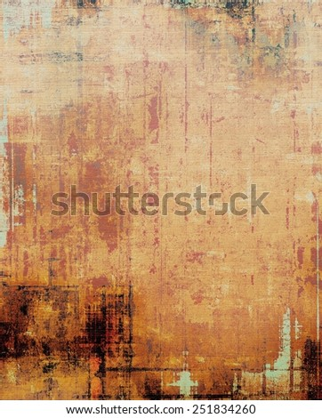 Art grunge vintage textured background. With different color patterns: yellow (beige); brown; red (orange); gray - stock photo