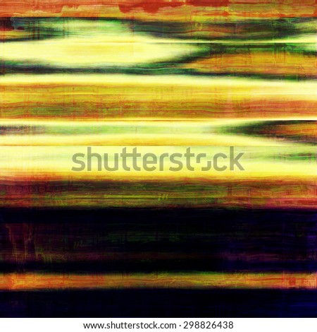 Art grunge vintage textured background. With different color patterns: yellow (beige); green; red (orange); black - stock photo