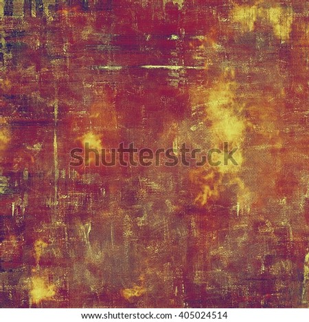 Art grungy texture, aged background with retro feeling. With different color patterns: yellow (beige); brown; purple (violet); red (orange); pink - stock photo