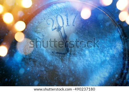art 2017 happy new years eve background