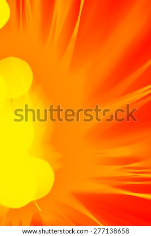 art photography - boke of the Big Bang - stock photo
