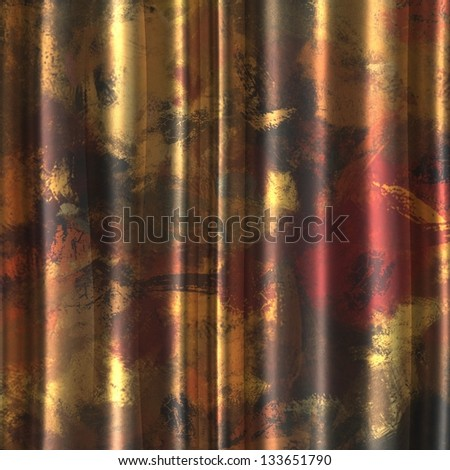art vintage abstract background, seamless pattern - stock photo