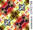 art vintage damask seamless pattern background - stock vector