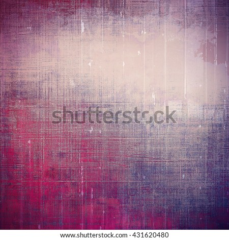 Art vintage texture for background in grunge style. With different color patterns: blue; purple (violet); gray; pink - stock photo