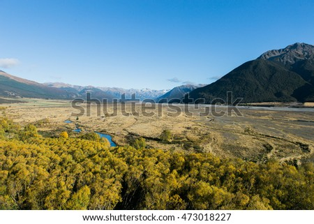 Arthur's Pass National Park, New Zealand