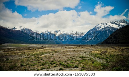 Arthurs Pass National Park, Southern Alps, New Zealand